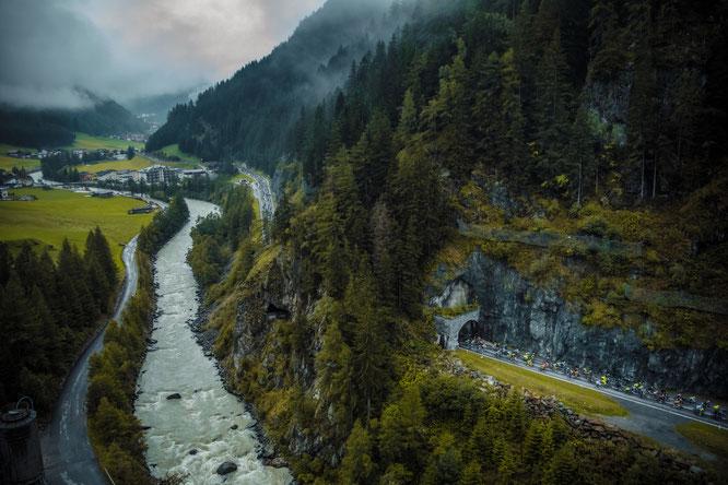 Ötztaler Radmarathon total auf K19 (Copyright: Ötztal Tourismus/Jürgen Skarwan)