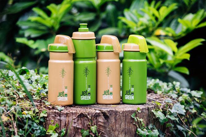 Flaschen der Jet Green Serie von ELITE © Paul Lange & Co. OHG