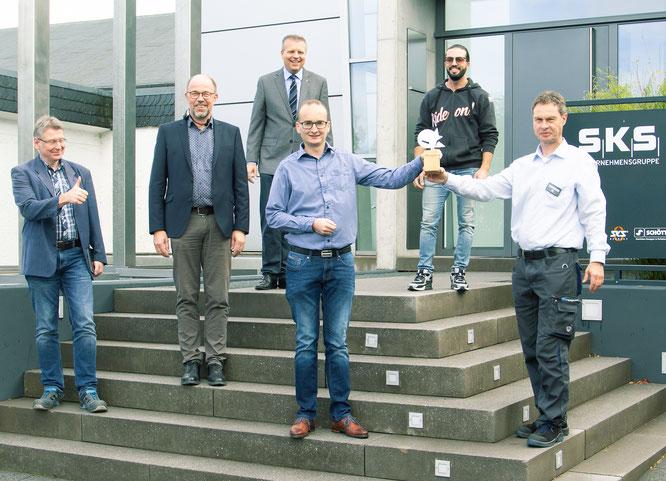 Verleihung Schlauer Fuchs SKS Unternehmensgruppe