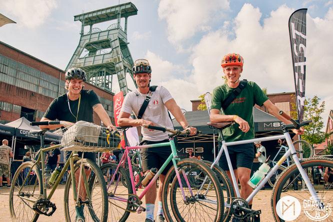 Wer die Augen offen hielt, konnte viele Besucher mit individuellen Rädern entdecken. © Bike Projects/Paul Masukowitz
