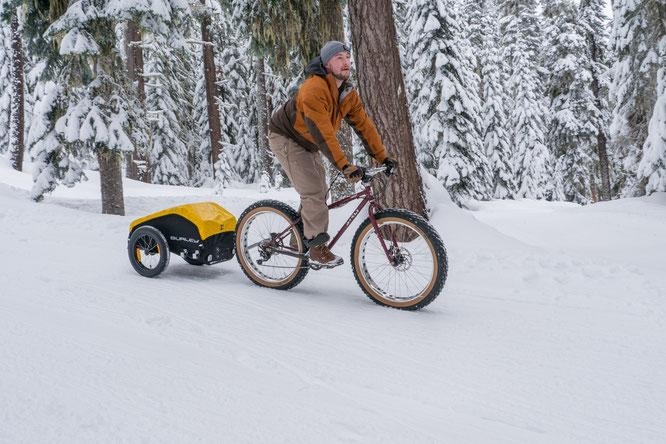 Schneemobil oder mobil im Schnee – sportliche Alternativen zum gecancelten Pistenspaß © Burley