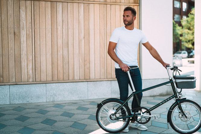 """MOVEAs innovatives E-Bike E-MOVE wurde bereits vor der offiziellen Markteinführung mit dem Cyclingworld Award in der Kategorie """"Best Urban Bike 2020"""" ausgezeichnet."""