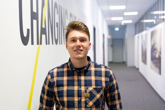 Julius Tenschert übernimmt die Stelle des Vertriebsbeauftragten im Außendienst für das Gebiet Norddeutschland