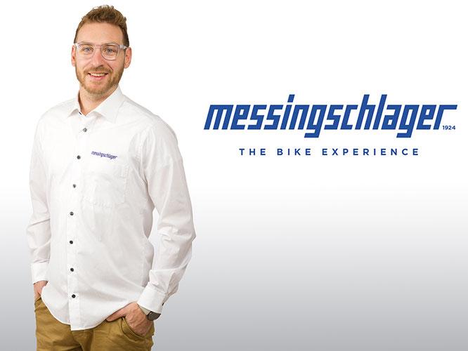 Der Verantwortliche für das Service-Team Messingschlager: Alexander Neumann