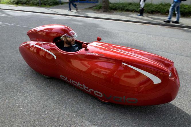 Vierrädrige Carbike-Varianten beflügeln die Velomobil-Szene. ©Spezialradmesse