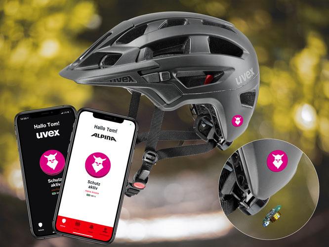 UVEX integriert Tocsen in neue Enduro Helme