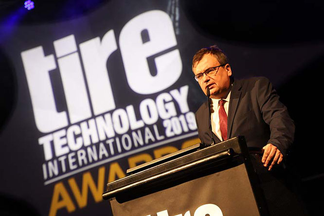 Pierre Robert -  Direktor für Forschung und Entwicklung der Michelin Gruppe/ Foto: Michelin