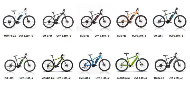 MONTIS ist die Marke fürs E-Mountain-Biking / © Velototal - Andreas Burkert