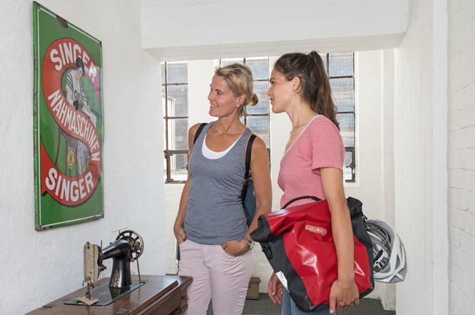 Stadtmuseum Wittenberge  Ausstellung im Uhrenturm   Copyright: (c) Nada Quenzel