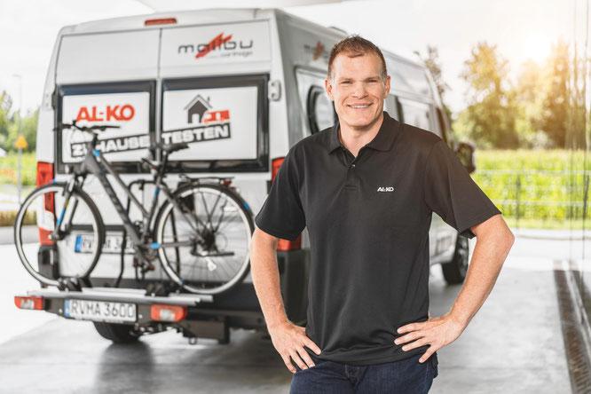 Christoph Neher, Gebietsverkaufsleiter Süddeutschland bei der AL-KO Vehicle Technology Group.