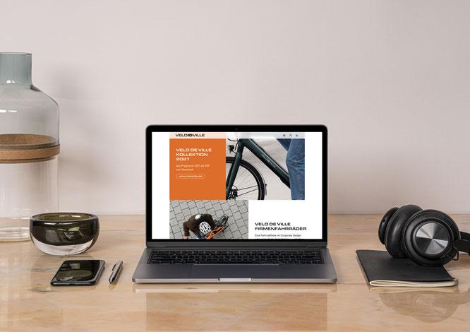 Webseiten Relaunch als Teil der digitalen Strategie von Velo de Ville