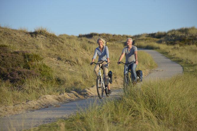 Auf 320 Radkilometern zwischen Oder und Weichsel ist das Baltische Meer auf der Landpartie-Radreise allgegenwärtig © Bild: Die Landpartie