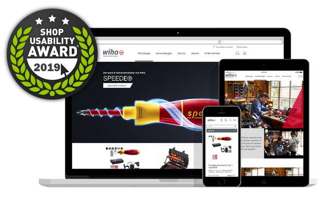 Unterschiedliche Ratgeber-, Karriere- und Imageseiten vermitteln Besuchern ein klares und vielseitiges Bild des Markenherstellers Wiha Werkzeug