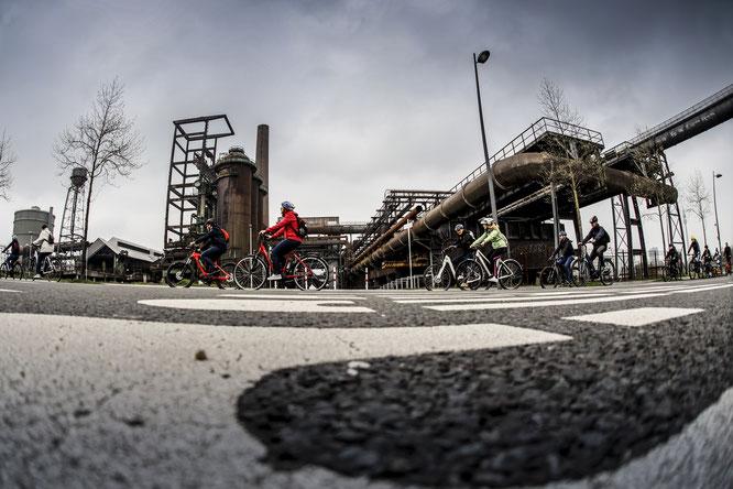 E-Bike Touren führen zu den spannendsten und interessantesten Punkten Dortmunds // Bildquelle: www.andifrank.de