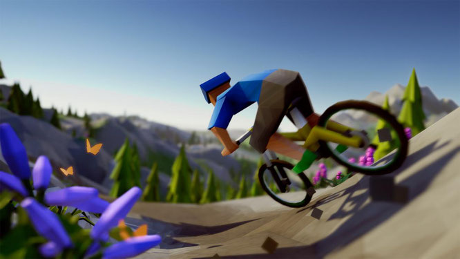 Lonely Mountains: Downhill - Neues Mountain Biking Game aus Berlin sucht Crowdfunding