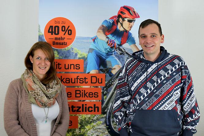 Nicole Schöttle verstärkt das Team von bike-angebot, so Friedemann Vieweger – Geschäftsführer