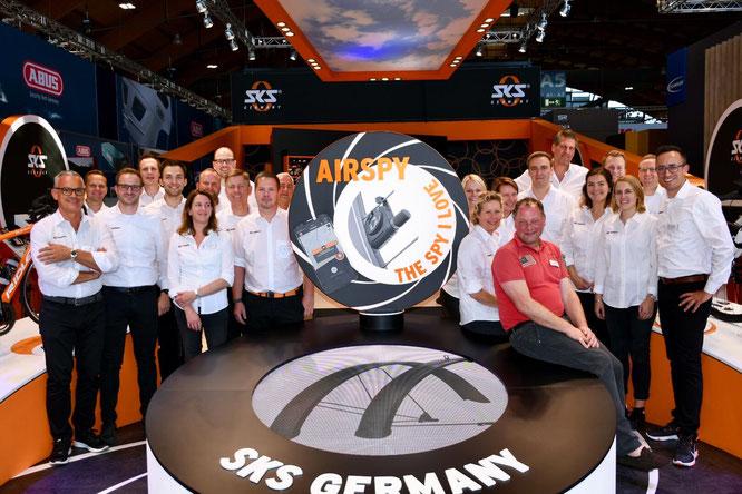 SKS-Team bei der Eurobike 2019