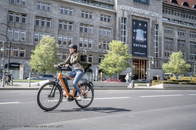 Mit dem Fahrrad ist man auf vielen Strecken schneller unterwegs als mit dem ÖPNV.