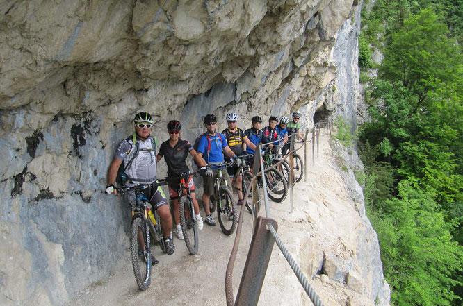 Am 25. und 26. Mai 2019 findet die Streckenbesichtigung zur Salzkammergut-Trophy 2019 statt – erstmals gibt es auch eine eigene Gruppe für Gravel-Bikes! ©Peter Perstl