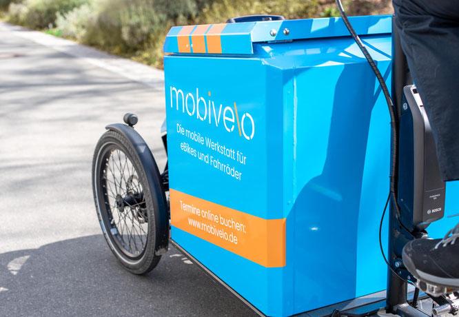 mobivelo – die mobile Werkstatt für eBikes und Fahrräder, die zu dir nach Hause oder in die Firma kommt.