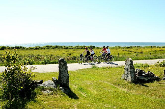 Baden, Radfahren und Kaffee trinken -  In Europas Norden an Südschwedens malerischer Westküste