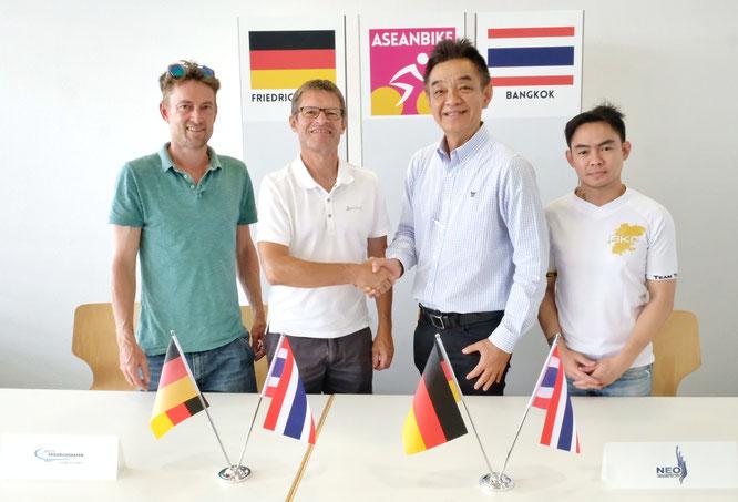 Neuveranstaltung ASEANBIKE powered by Eurobike in Thailand – Südostasiatische Region als vielversprechender Zukunftsmarkt für die Bikebranche