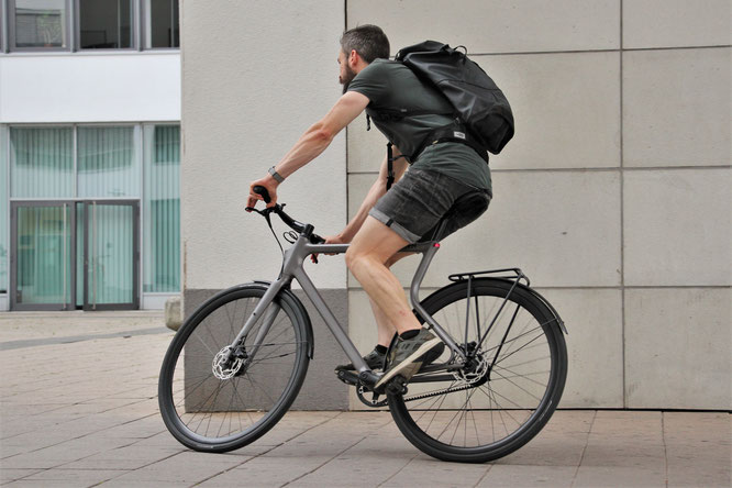 Die Leidenschaft für den Fahrradbau prägen die charakteristische Handschrift von Urwahn nachhaltig ©Urwahn
