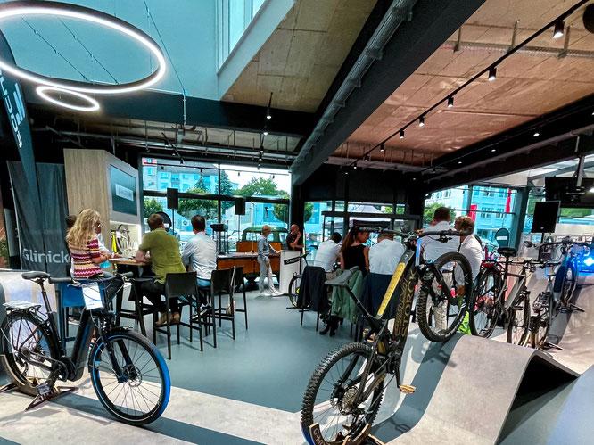 Eröffnungsfeier mit Premium STORCK Bikes bei G-Motion in Kassel