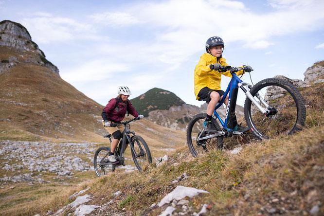 woom UP E-Mountainbike –  erweitert den Erlebnishorizont
