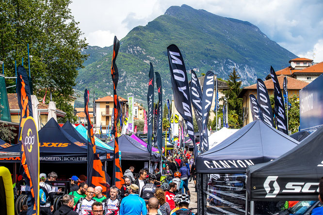 Ziener BIKE Festival Garda Trentino powered by FSA 2017 in Riva del Garda, Trentino, Italy - EXPO, Messe