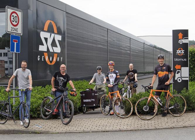 Zertifikat Fahrradfreundlicher Arbeitgeber in Silber für die nächsten drei Jahre: SKS-Mitarbeiterinnen und Mitarbeiter profitieren von den fahrradfreundlichen Maßnahmen bei SKS GERMANY