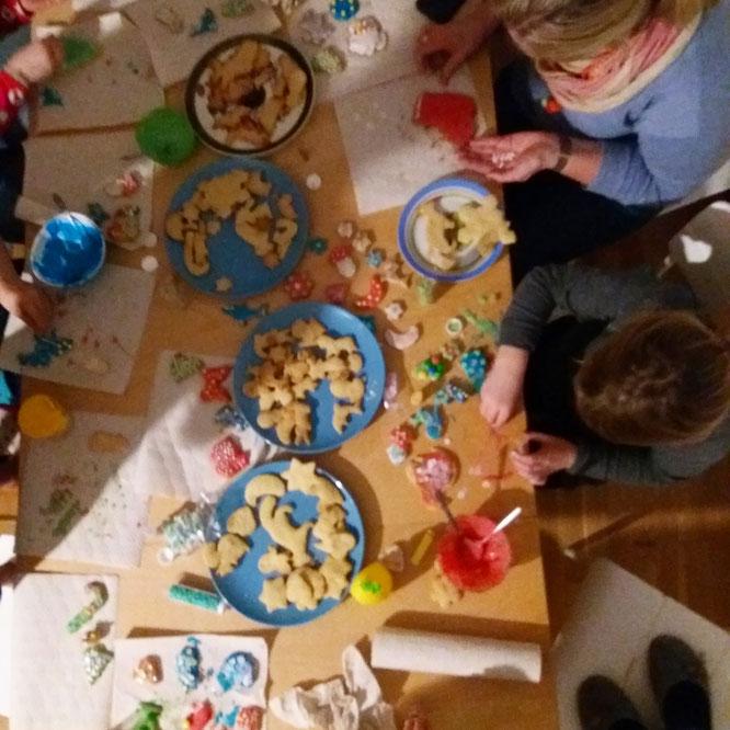 Plätzchen-Party