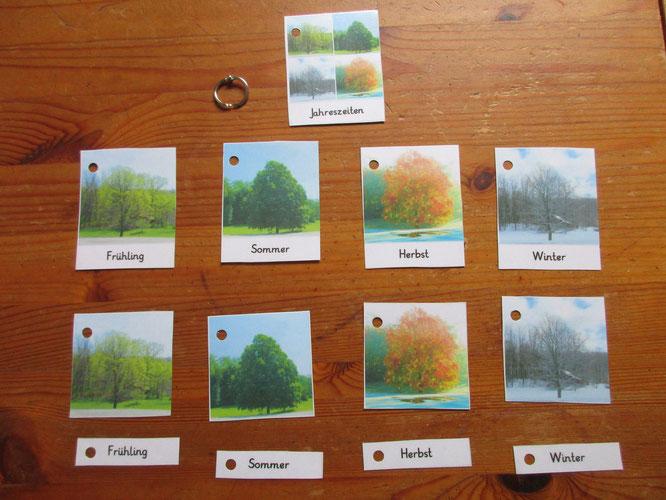 Unsere Jahreszeitenkarten (da ich leider nicht die Fotorechte besitze, kann ich sie hier nicht als download zur Verfügung stellen)