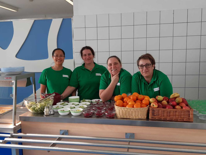 Unser Cafeteria-Dream Team!