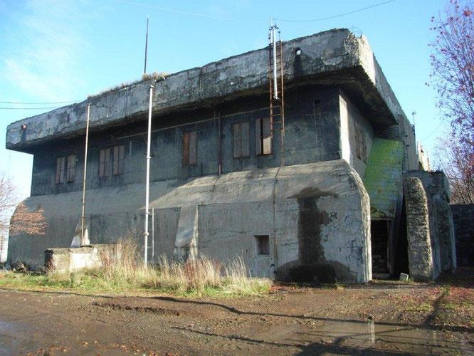 解体前の防空作戦室(札幌市平和バーチャル資料館より)
