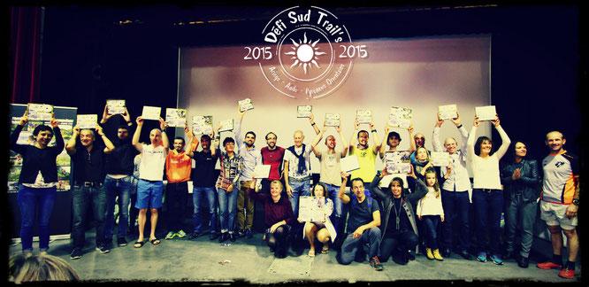 Remise des prix du Défi Sud Trail's 2015