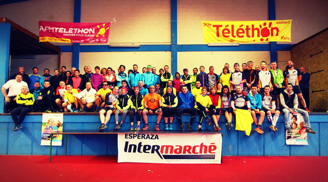 Trail Quillan Téléthon 2015