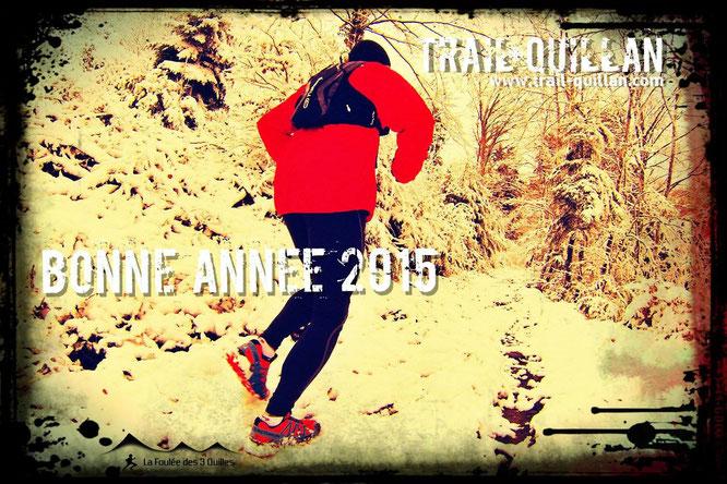 Bonne Année 2015 - Trail Quillan