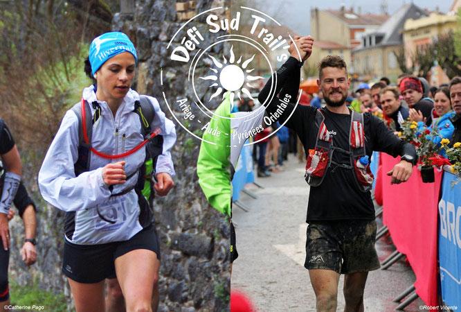 Défi Sud Trail's 2015 - Juliette Buisson et Nahuel Passerat