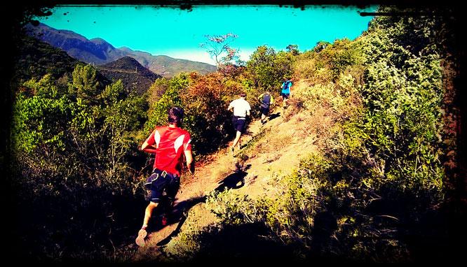Reco du Trail Quillan 2015 avec la Foulée des 3 Quilles