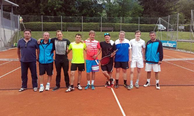 Herren  Mannschaft                  5. Runde TC Montafon - TC Rankweil