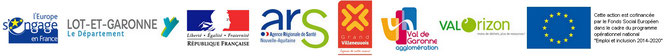 financeurs et partenaires ARDIE47 : europe, Direccte aquitaine, conseil général 47, Région Aquittaine, CAGV, Val de Garonne Agglomération