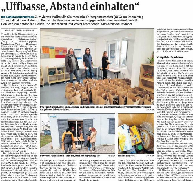 DIE RHEINPFALZ, Ludwigshafener Rundschau, 16.01.2021