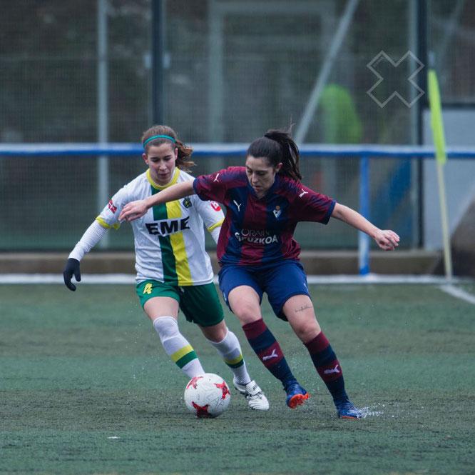 Irantzu y Yasmin - Foto: Captura Sport