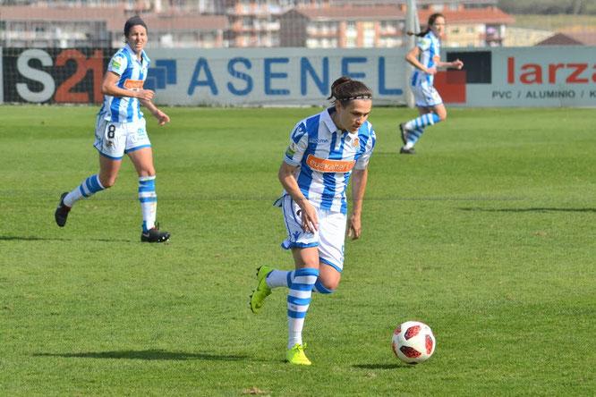 Sandra Ramajo goza de sus primeros minutos en Liga - Foto: Giovanni Batista