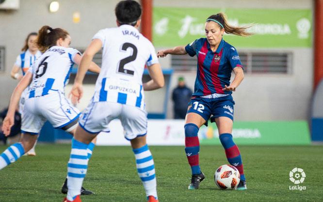 La Real tuvo enfrente a su ex Claudia Zornoza - Foto: LaLiga