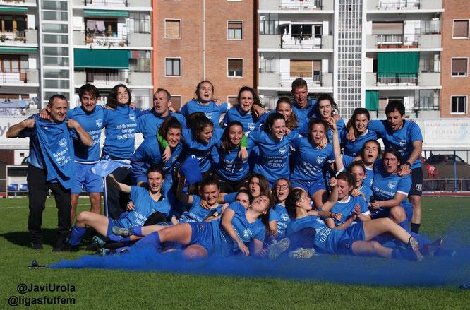 Tolosa txapeldun de Liga Vasca - Foto: Javi Urola