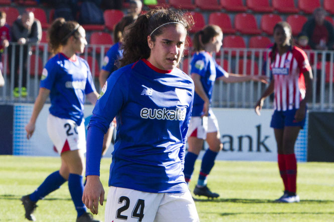Oihane debuta con el primer equipo del Athletic en partido oficial - Foto: Athletic Club