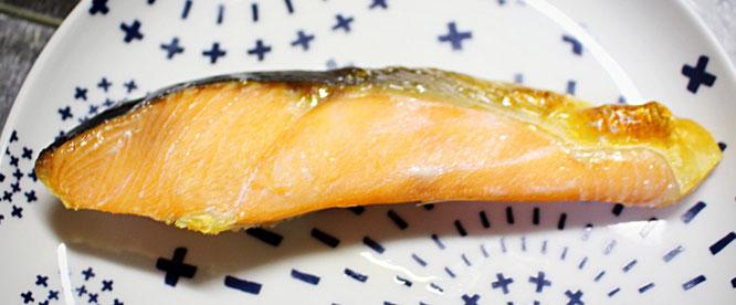新巻鮭焼き画像