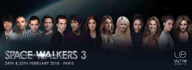 Feb 24-25, 2018 - Paris, France - Ultimevents Space Walkers 3 - With Jarod Joseph, Sachin Sahel, Richard Harmon, Chelsey Reist, Lindsey Morgan, Jessica Harmon, Nadia Hilker, and Chris Larkin.